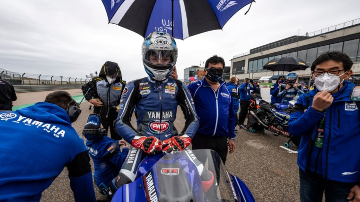 FIM スーパーバイク世界選手権(SBK)2021アラゴン戦 レース2 12位  野左根航汰「序盤は慎重になりすぎてしまった」