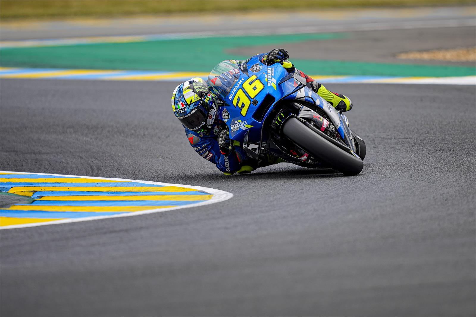 フランスGP 初日総合13位ジョアン・ミル「フロント周りのフィーリングが良くない」