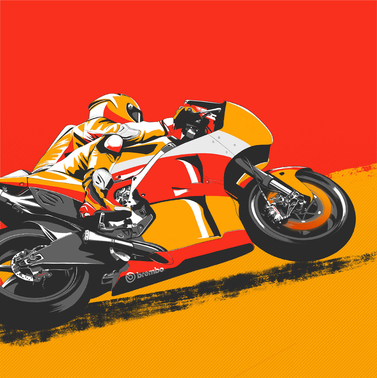 ブレンボが分析する 2021年MotoGP フランスグランプリ