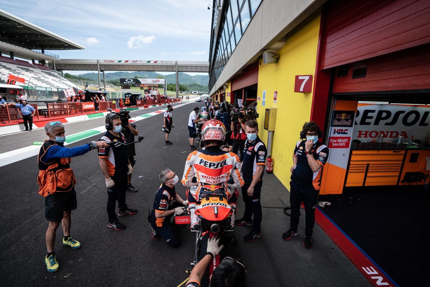 MotoGP2021イタリアGP 予選11位マルク・マルケス「後追いが唯一の手段だった」