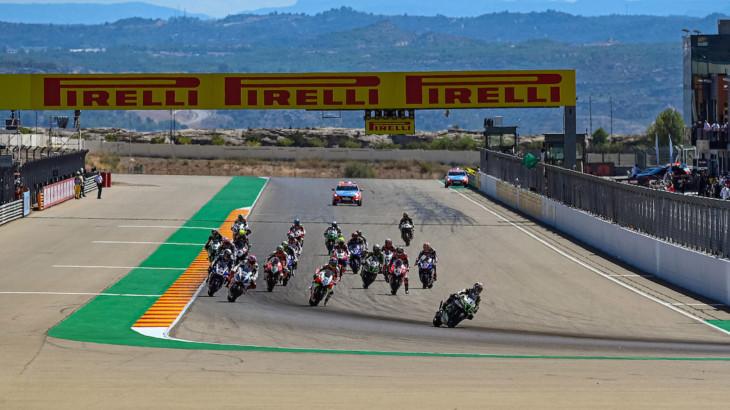 ピレリ(Pirelli)FIM スーパーバイク世界選手権(SBK) 2021年開幕戦アラゴンのタイヤラインナップを発表
