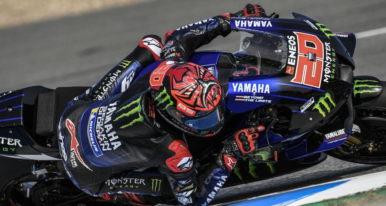 スペインGP 初日総合2位 ファビオ・クアルタラロ「ユーズドタイヤで苦戦している」