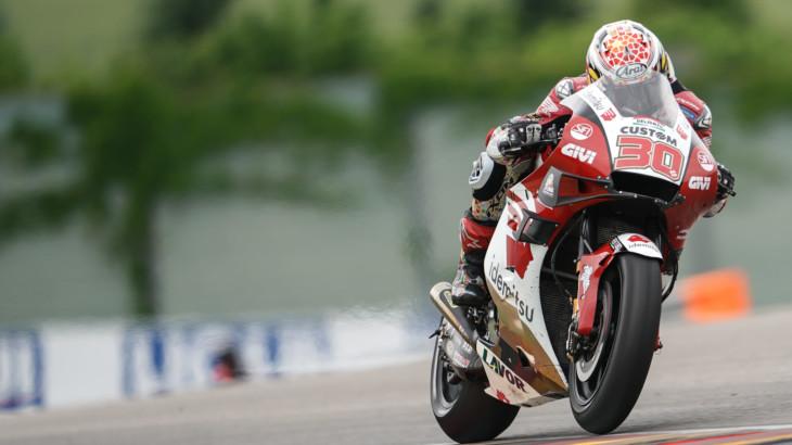 MotoGP2021 ドイツGP13位 中上 貴晶「8周目か9周目にグリップが落ちてきた」