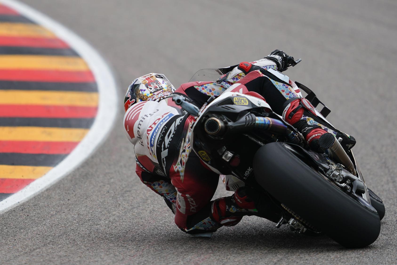 ドイツGP13位 中上 貴晶「8周目か9周目にグリップが落ちてきた」