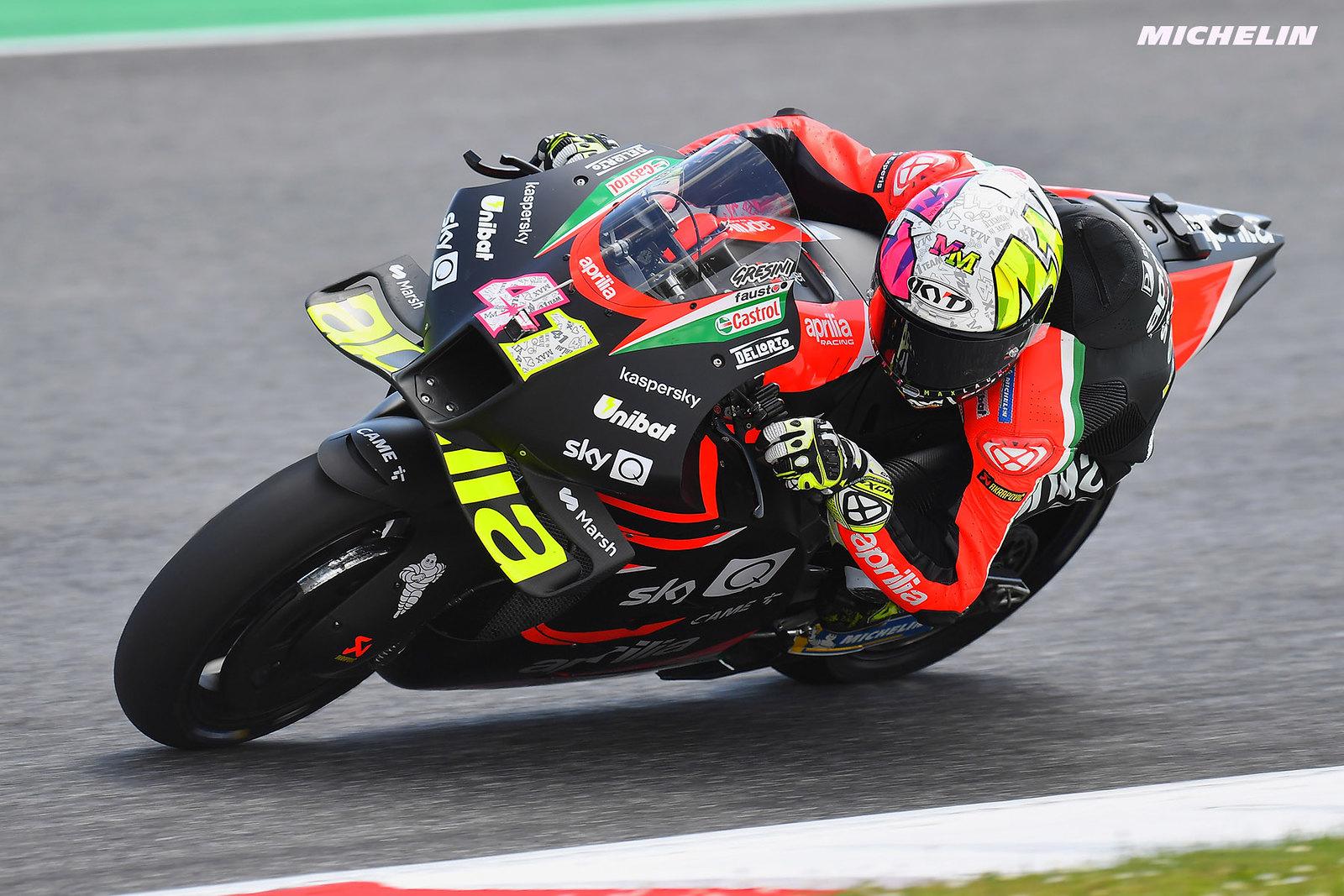 MotoGP2021イタリアGP 7位アレイシ・エスパルガロ「腕上がり手術後の状態が良かった」