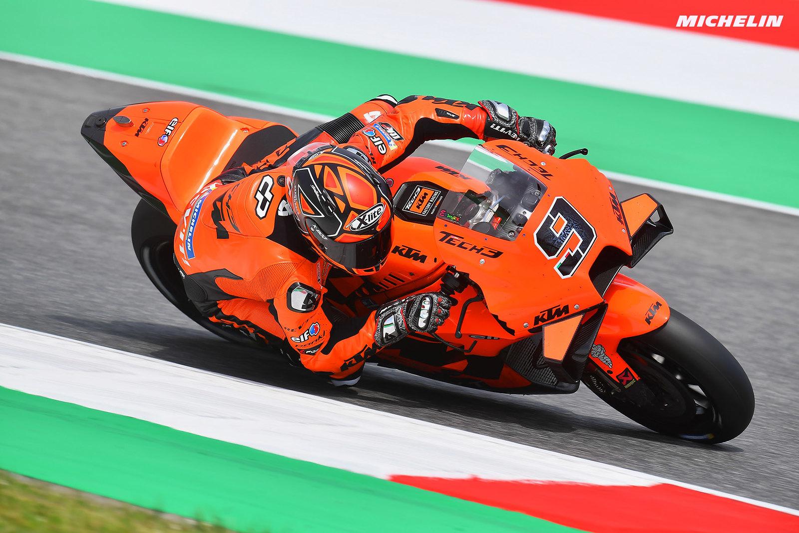 MotoGP2021イタリアGP 9位ダニーロ・ペトルッチ「後方からのスタートで苦戦した」