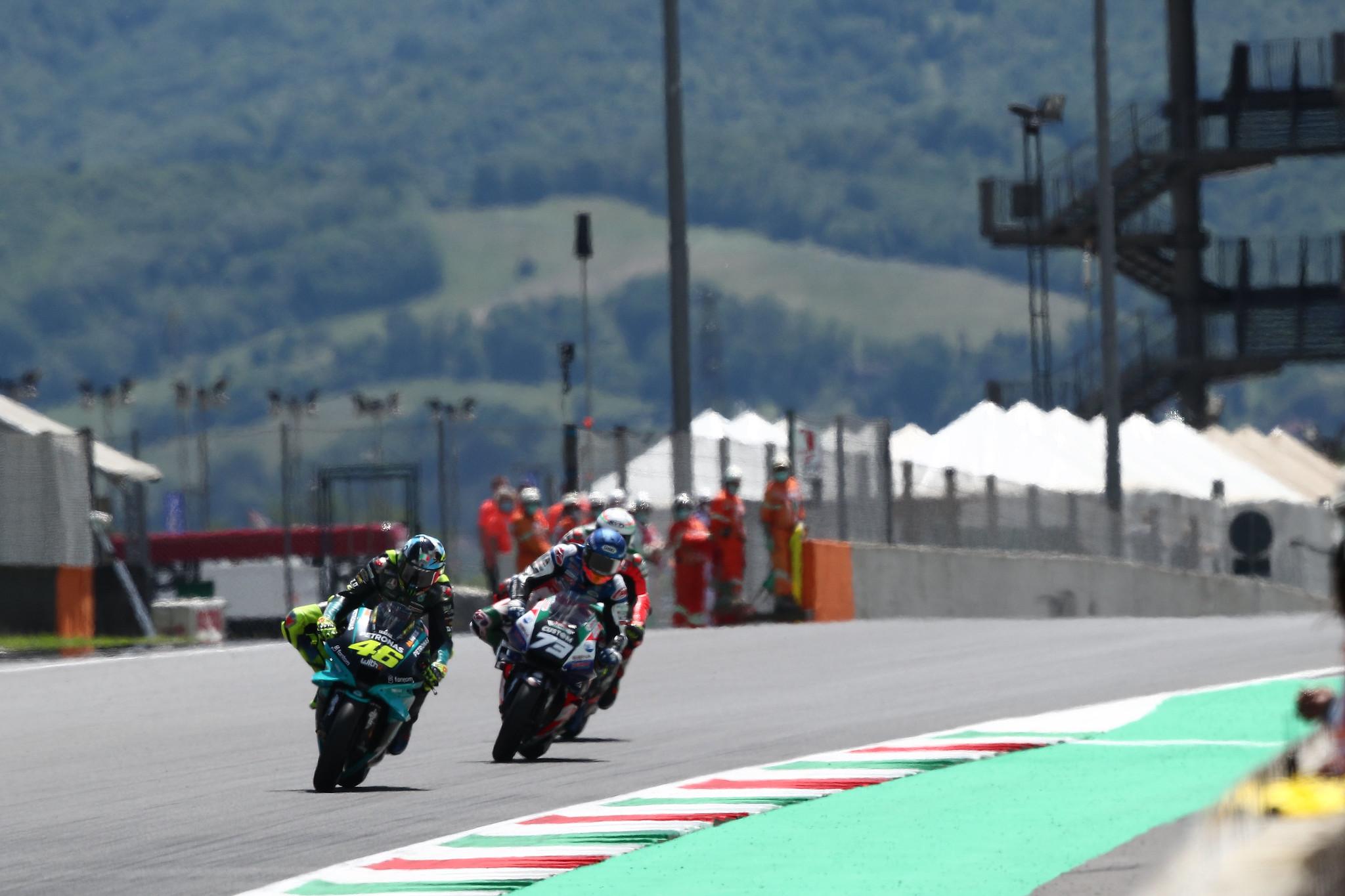 MotoGP2021イタリアGP 10位バレンティーノ・ロッシ「素晴らしい結果ではないがポイント獲得は出来た」