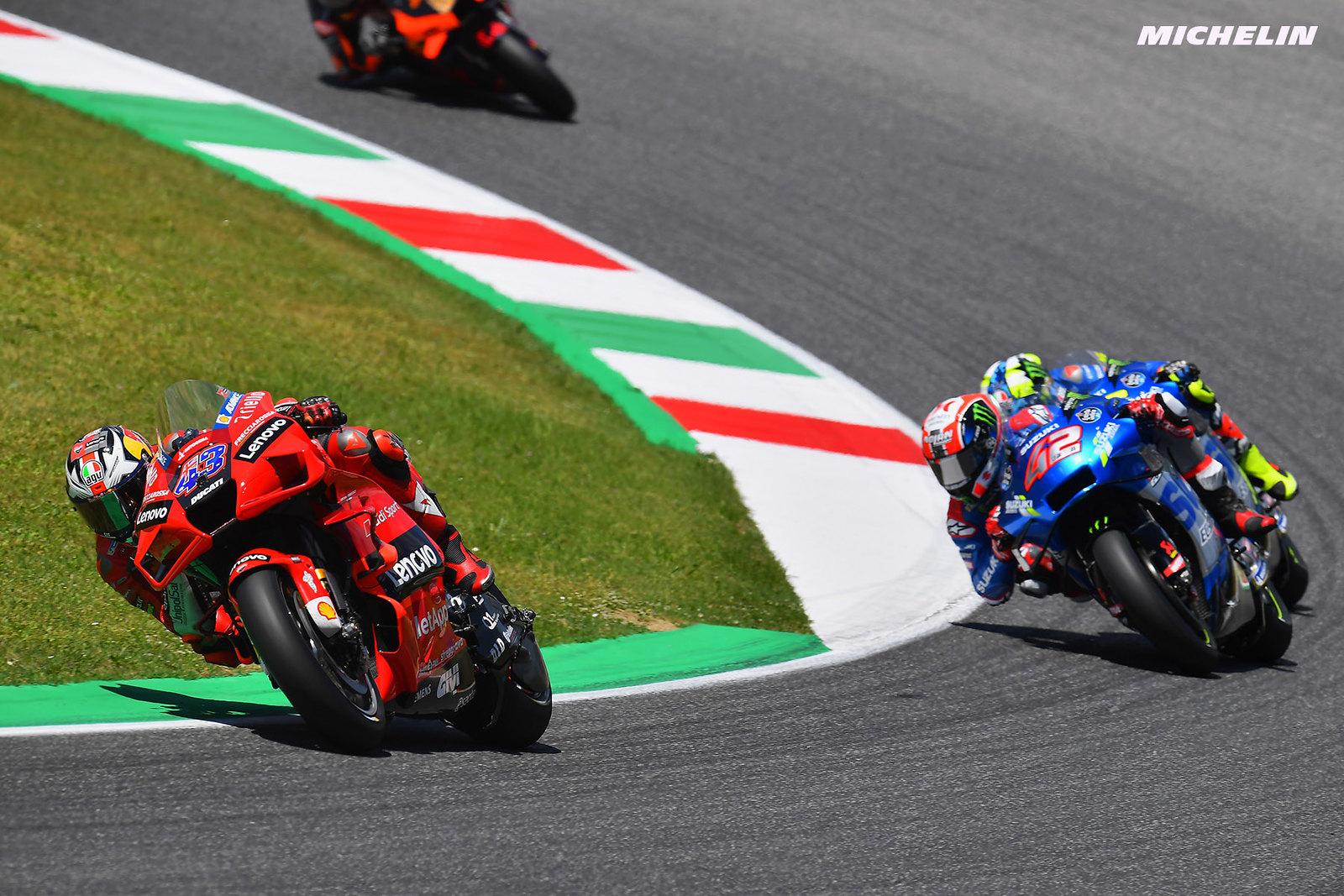 MotoGP2021イタリアGP 6位ジャック・ミラー「強風に苦戦したレースだった」