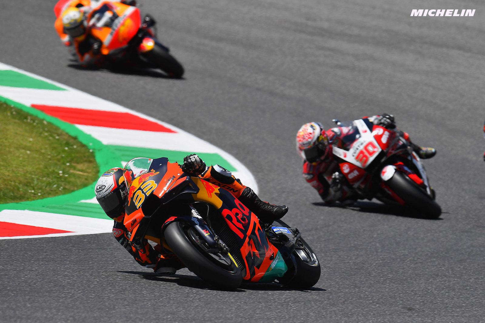 MotoGP2021イタリアGP 5位ブラッド・ビンダー「マルクに突っ込まれてエアバッグが作動した」