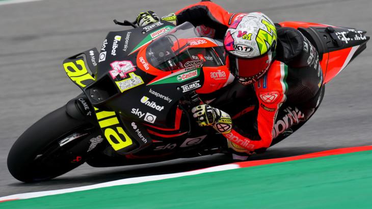 MotoGP2021カタルーニャGP 初日総合9位アレイシ・エスパルガロ「レース後半に向けてセッティングを作っている」
