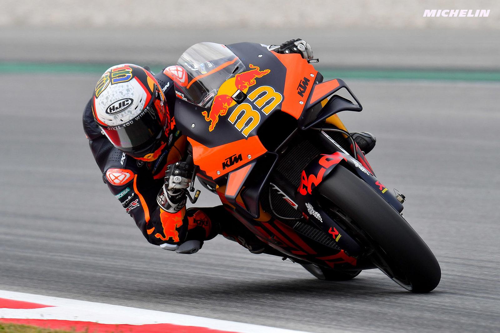 MotoGP2021カタルーニャGP 初日総合4位ブラッド・ビンダー「全体的なフィーリングは悪くない」