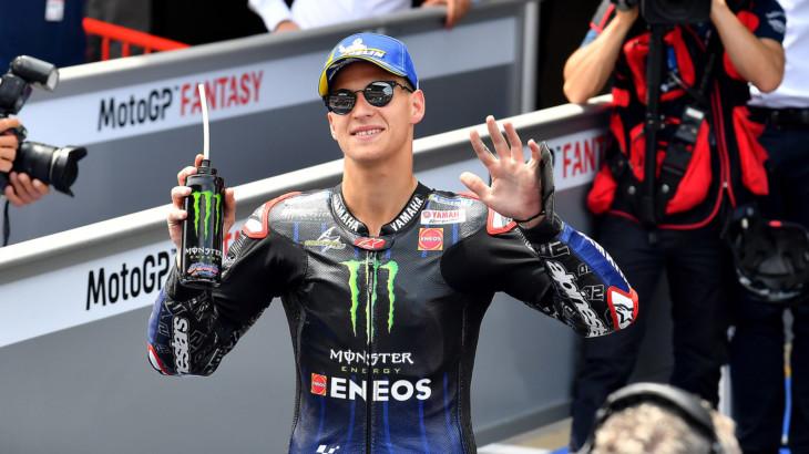 カタルーニャGP 予選1位 ファビオ・クアルタラロ「バイクも快適で限界もわかっている」