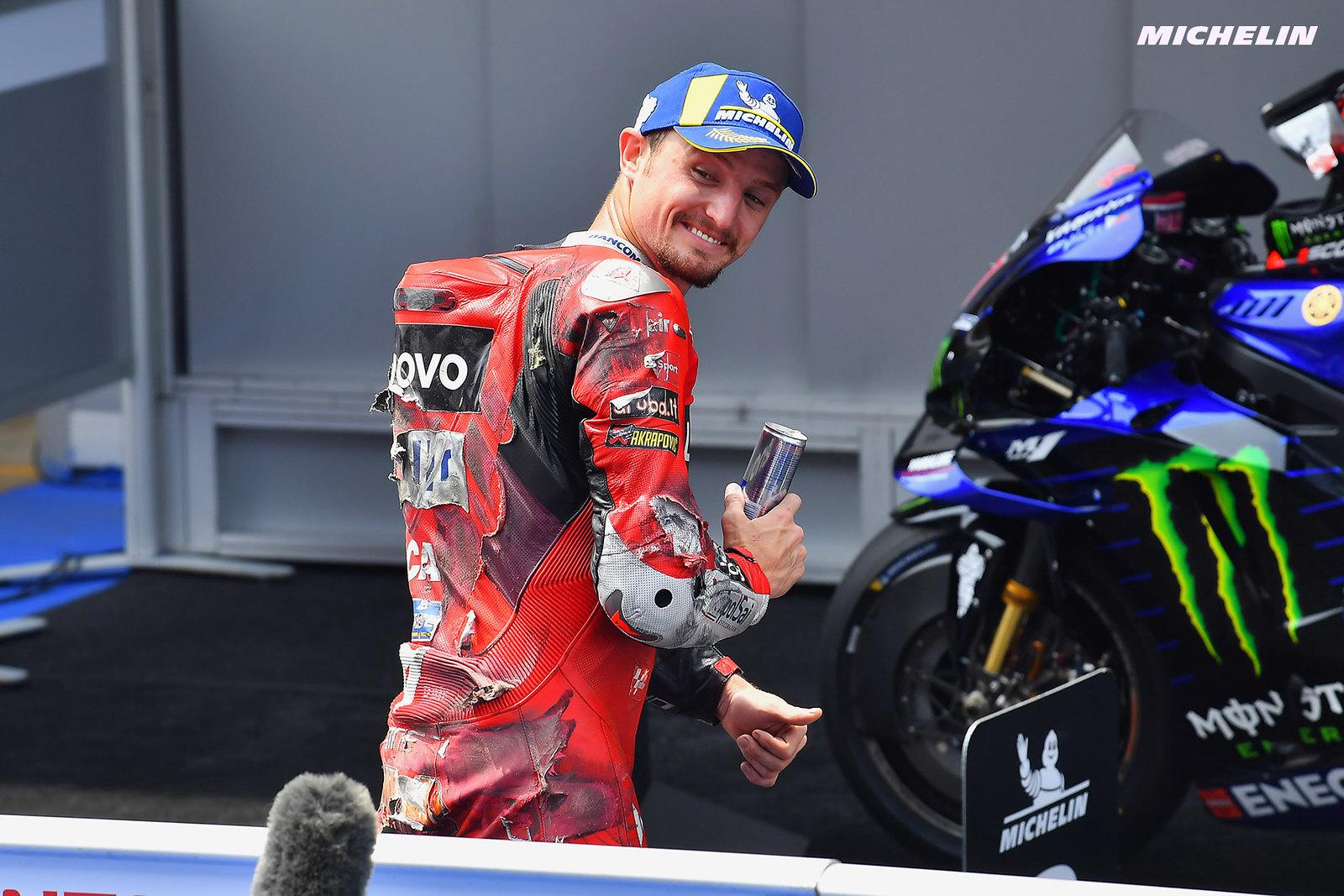 カタルーニャGP 予選2位 ジャック・ミラー「どのタイヤであってもレースに問題ない」