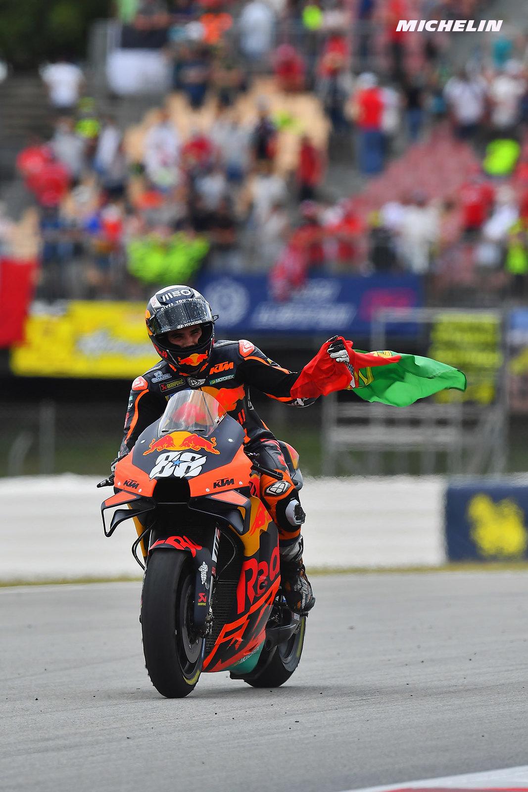 MotoGP2021カタルーニャGP ミゲル・オリヴェイラ「一番難しかったのは、メンタル面で落ち着いてレースをすること」