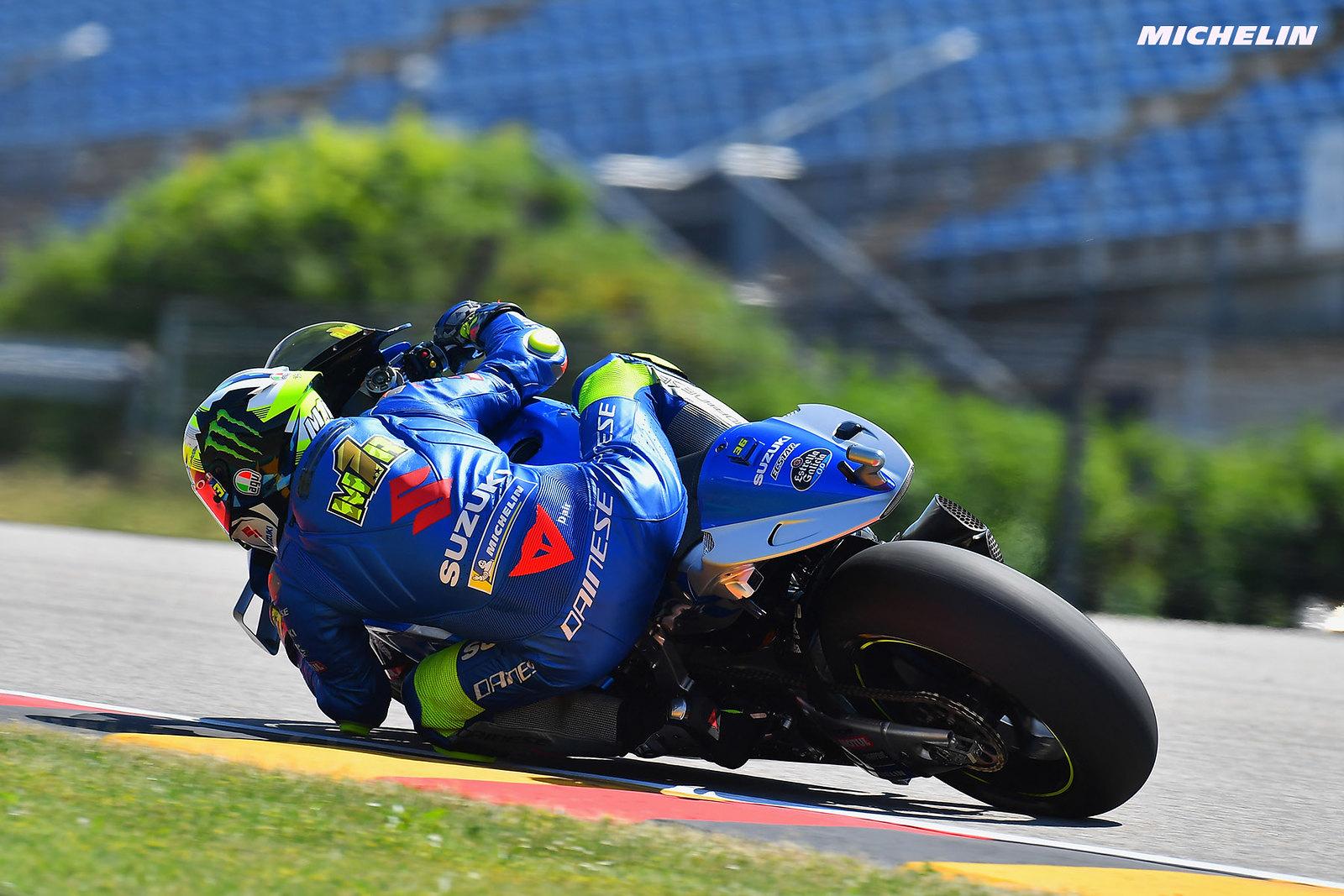 MotoGP2021 ドイツGP 初日総合16位ジョアン・ミル「フロントにプッシュ出来るフィーリングがない」