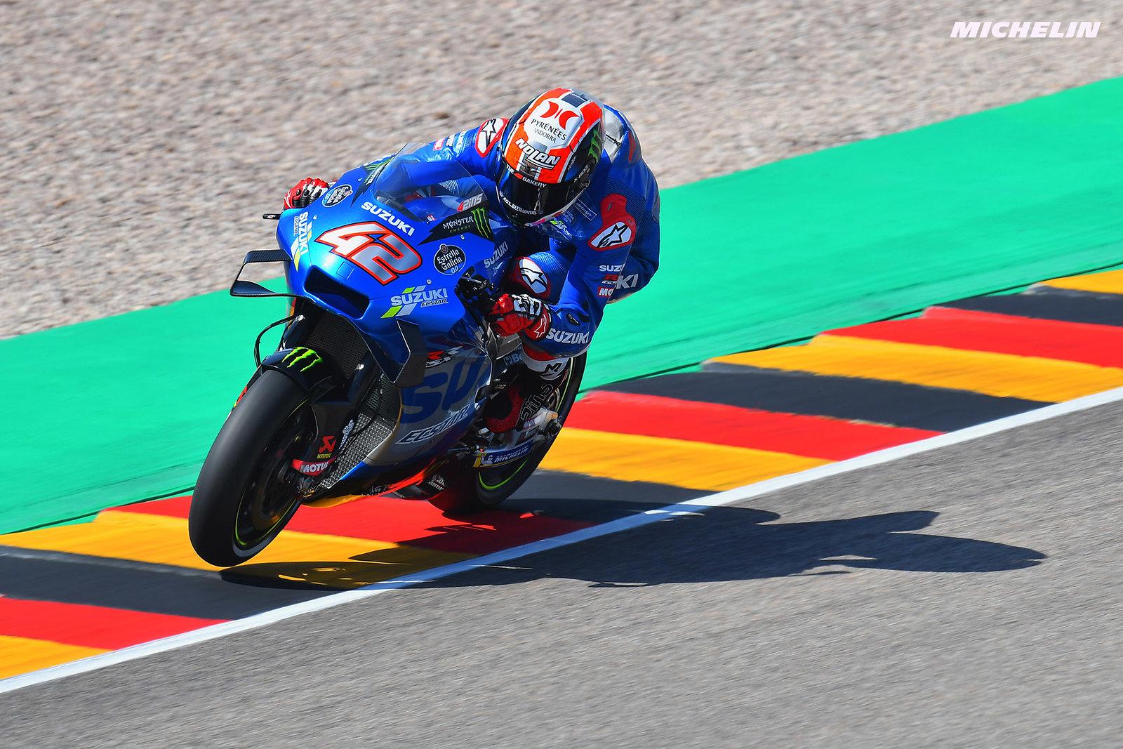 MotoGP2021 ドイツGP 初日総合4位 アレックス・リンス「4番手タイムには驚いた」