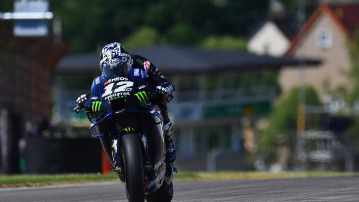 MotoGP2021 ドイツGP 初日総合3位 マーべリック・ビニャーレス「バイクのフィーリングが最も重要」