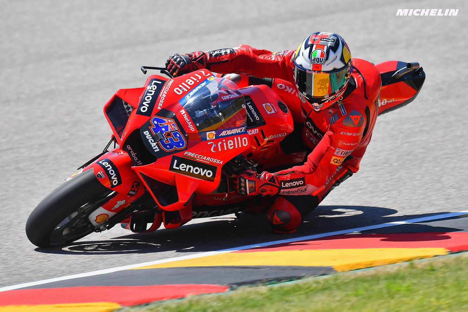 MotoGP2021 ドイツGP 初日総合9位 ジャック・ミラー「セクター3で苦戦中」