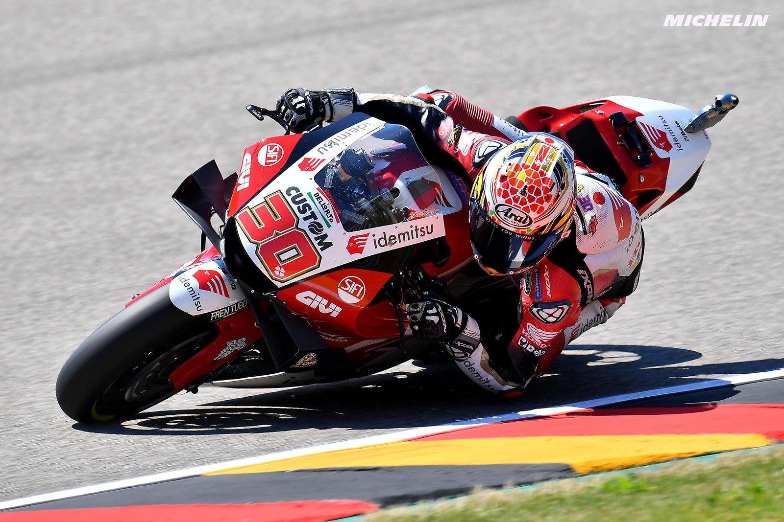 MotoGP2021 ドイツGP 初日総合6位 中上 貴晶「セクター1を改善することが必要」