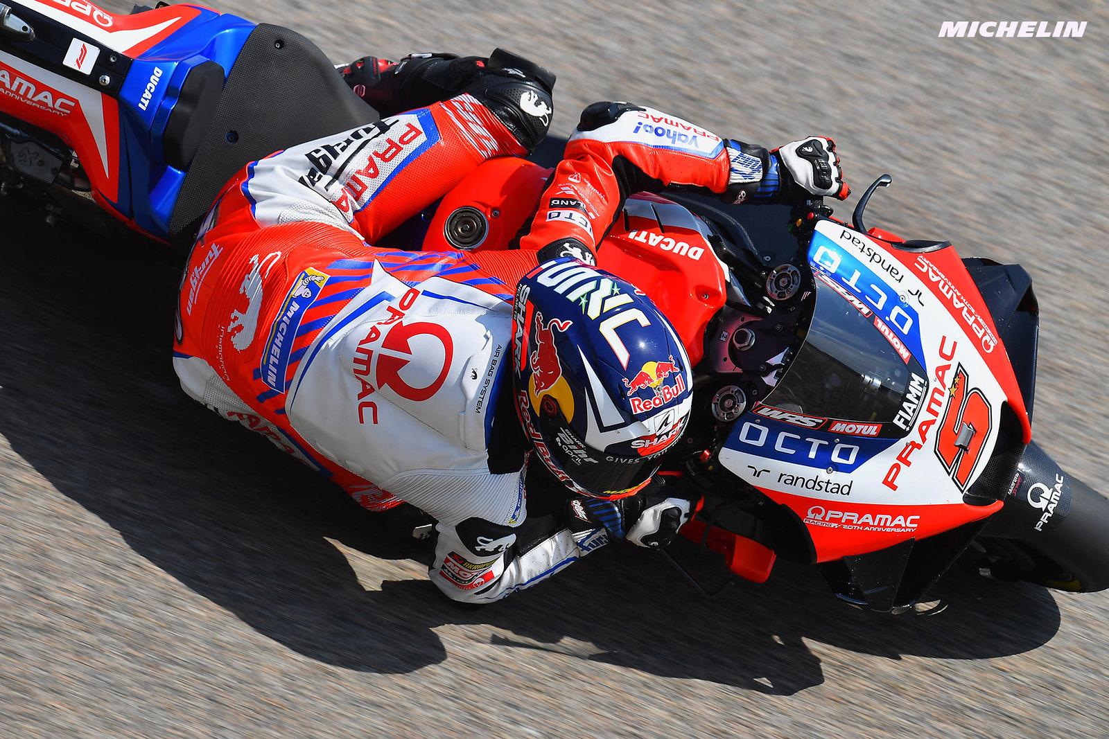MotoGP2021 ドイツGP8位 ヨハン・ザルコ「レース後半にタイヤが摩耗してしまった」