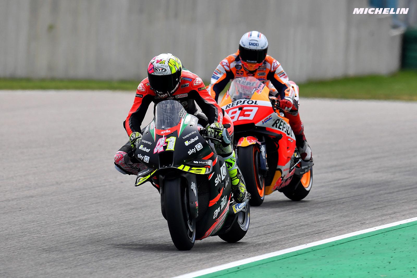 ドイツGP予選3位 アレイシ・エスパルガロ「バイクの戦闘力は今までで一番高い」
