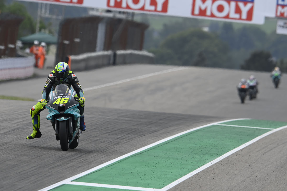 MotoGP2021 ドイツGP14位バレンティーノ・ロッシ「終盤はグリップが無くなってしまった」