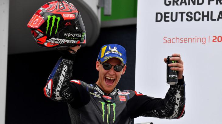 MotoGP2021 ドイツGP 3位ファビオ・クアルタラロ「優勝出来ない時の戦い方がわかった」