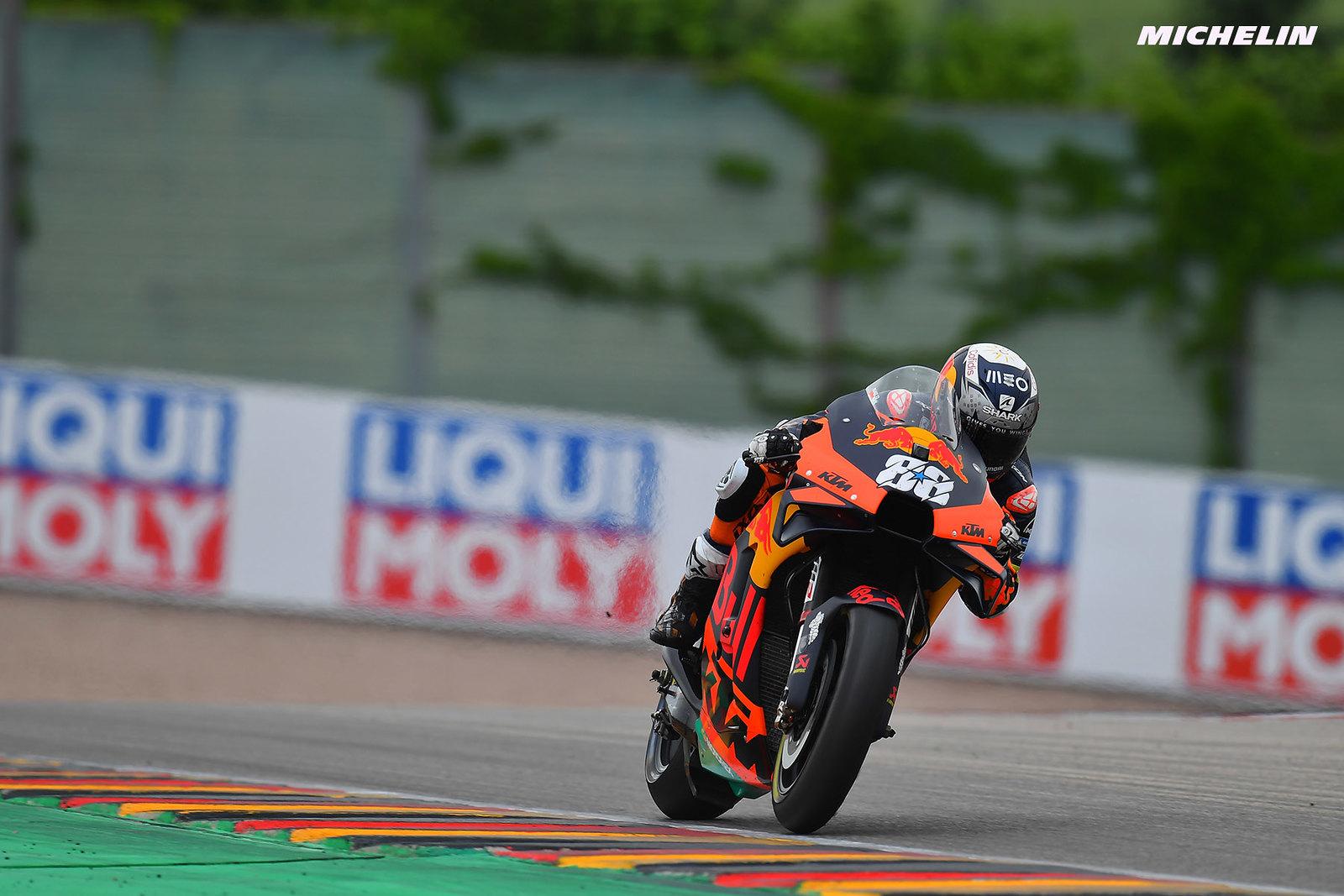 MotoGP2021 ドイツGP2位 ミゲル・オリヴェイラ「雨が降り出した事がレースの結果を決めた」