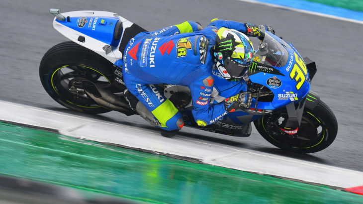 MotoGP2021オランダGP 初日総合7位ジョアン・ミル「高速コーナーでバイクと格闘している」