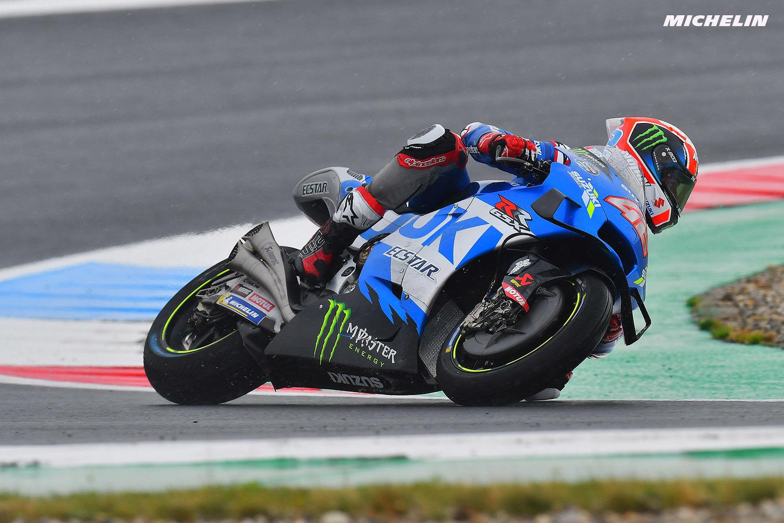 MotoGP2021オランダGP 初日総合5位アレックス・リンス「高速コーナーで苦戦してしまう」