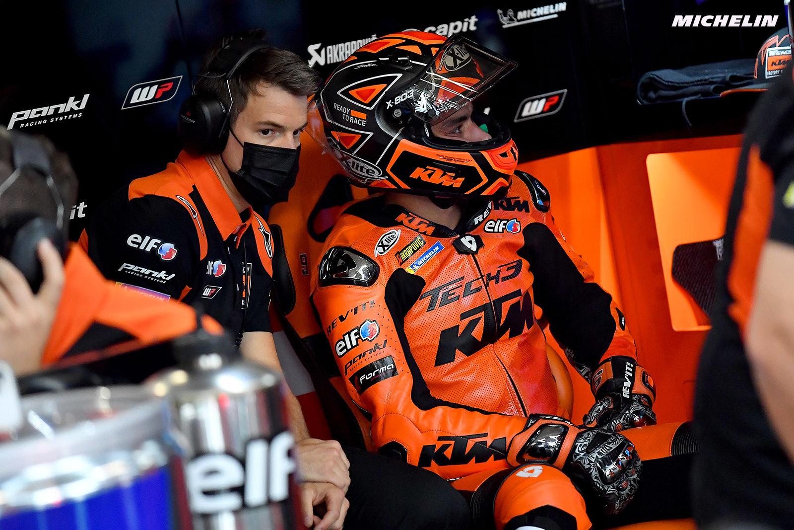 MotoGP2021 オランダGP 総合9位ダニーロ・ペトルッチ「ストレートでスピードを失っている」