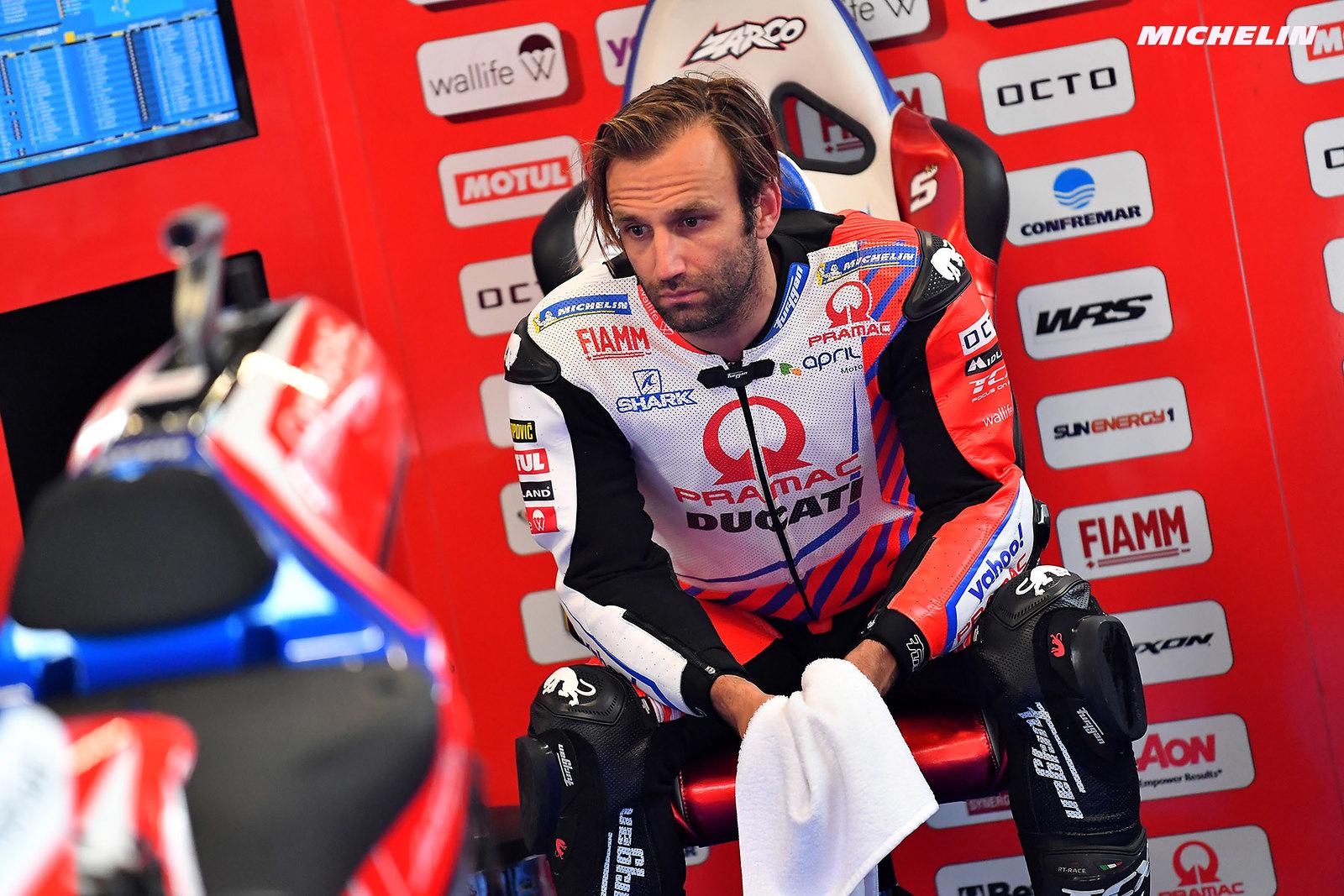 MotoGP2021 オランダGP 総合8位ヨハン・ザルコ「FP1からスピードがあることはわかっていた」