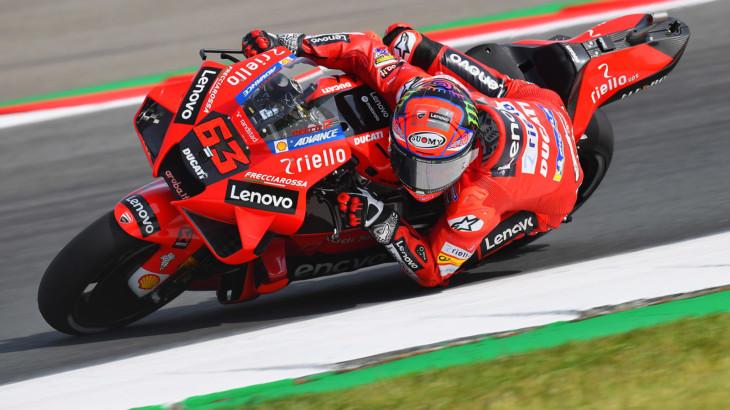 MotoGP2021スティリアGP フランセスコ・バグナイア「後半戦を最高の形で迎えたい」