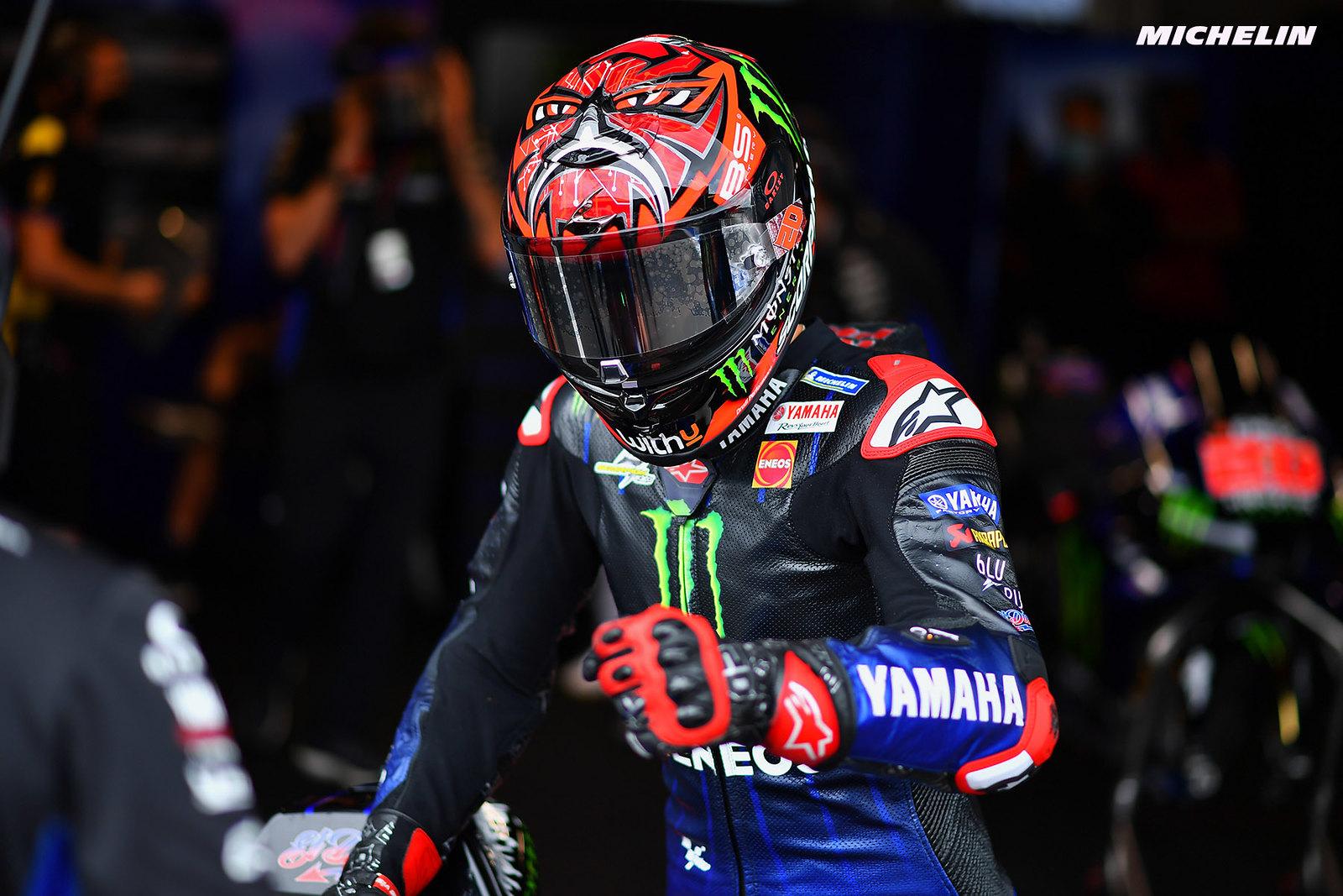 MotoGP2021 オランダGP 予選2位ファビオ・クアルタラロ「マーべリックとの一騎打ちになるかも」