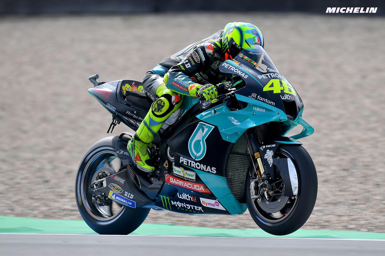 MotoGP2021 オランダGP 予選 バレンティーノ・ロッシ「明日も同じフィーリングが得られることを願いたい」