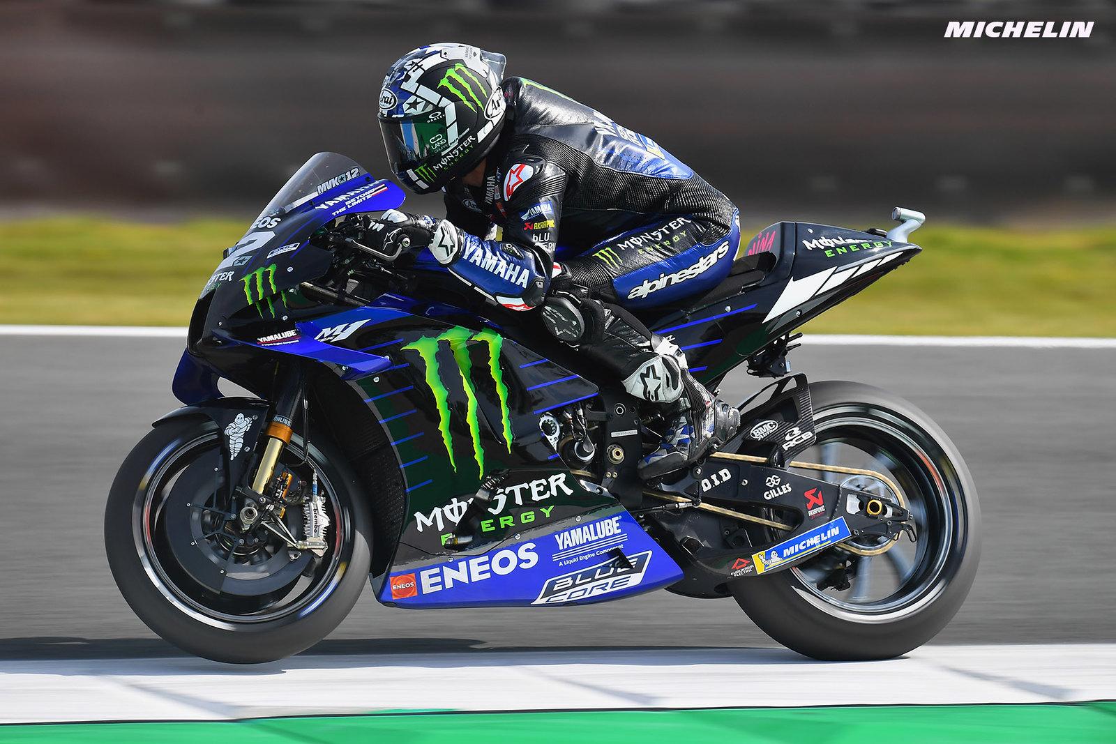 MotoGP2021 オランダGP 予選1位マーべリック・ビニャーレス「天候とタイヤ選択が重要になる」