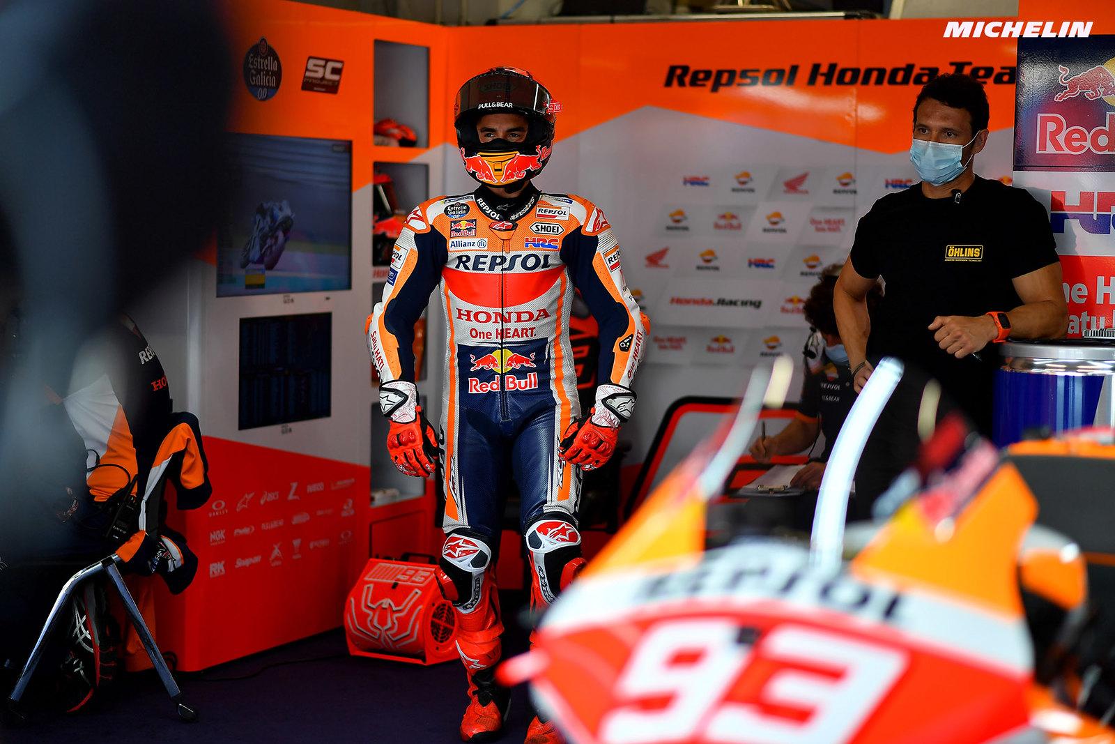 MotoGP2021 オランダGP 予選20位マルク・マルケス「レースよりも夏休みが待ち遠しい」