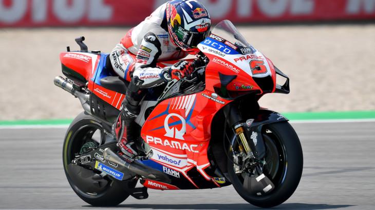 MotoGP2021 オランダGP 4位ヨハン・ザルコ「あらゆることを試したがミルについていけなかった」