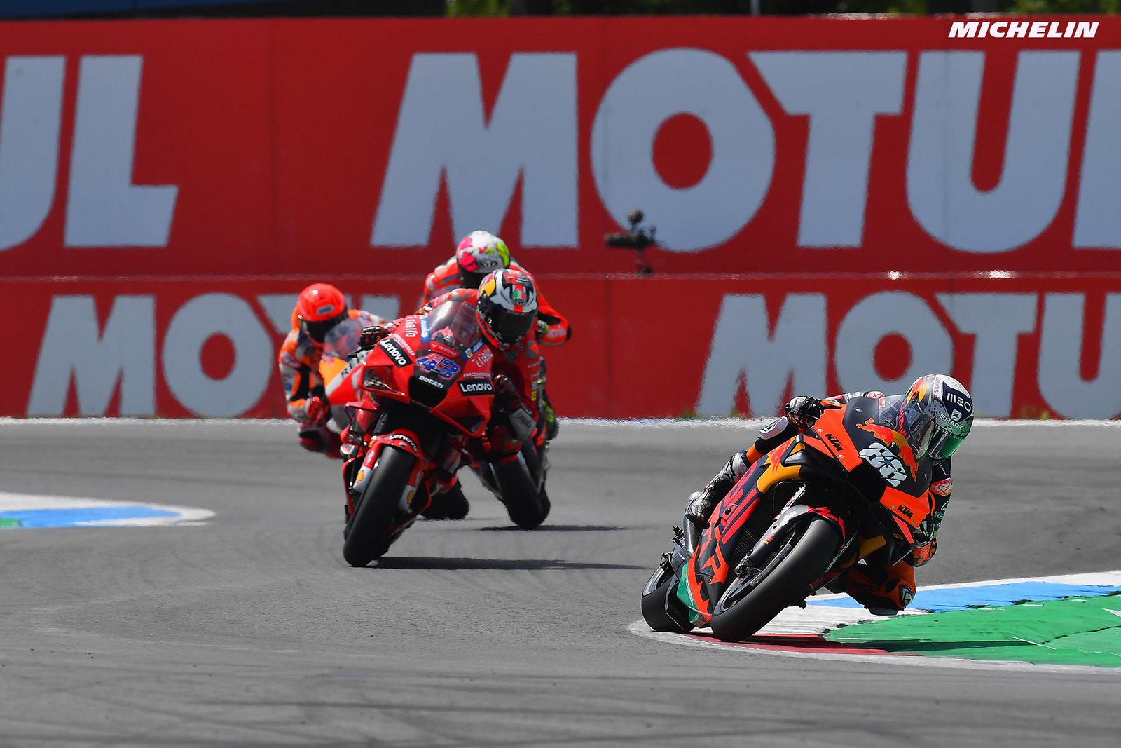 MotoGP2021オランダGP 5位ミゲル・オリヴェイラ「最速ではないがソリッドなレースが出来た」