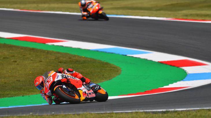 MotoGP2021オランダGP 7位マルク・マルケス「レース中のパフォーマンスには満足している」