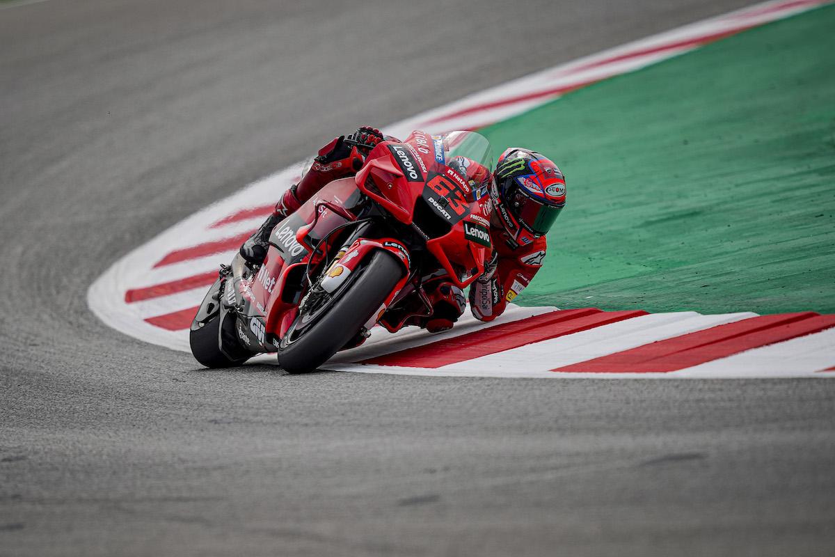 MotoGP2021カタルーニャGP 初日総合5位フランセスコ・バグナイア「ユーズドタイヤにおける改善を進めた」