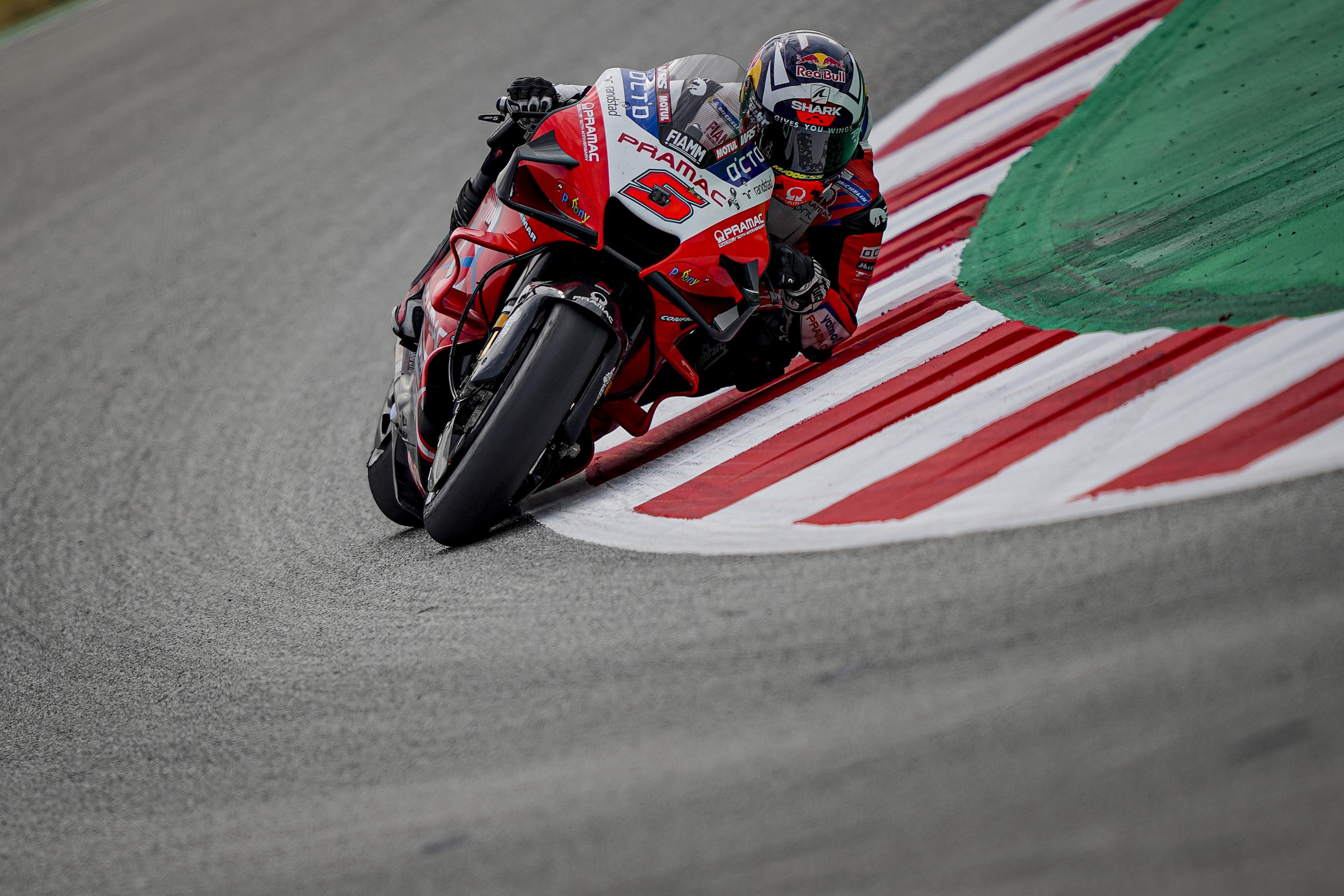 MotoGP2021カタルーニャGP 初日総合1位ヨハン・ザルコ「今日のトップタイムはファビオのおかげ」