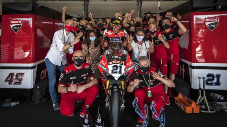 FIM スーパーバイク世界選手権(SBK)ミサノ戦 マイケル・ルーベン・リナルディ「ファンがいたのでエキサイティングなレースだった」