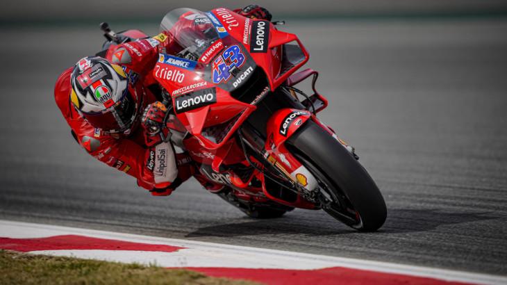 MotoGP2021カタルーニャGP 初日総合7位ジャック・ミラー「ファンがグランドスタンドにいることが嬉しい」