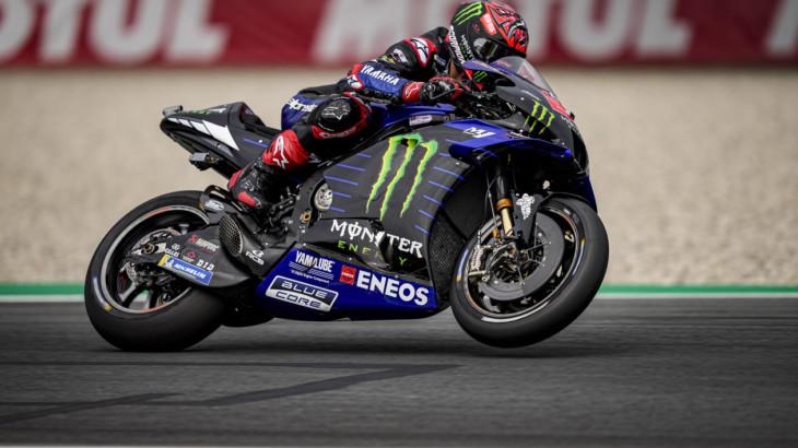 MotoGP2021オランダGP 初日総合4位ファビオ・クアルタラロ「改善が必要だが、フィーリングは悪くない」