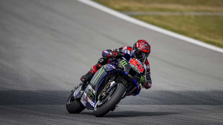 MotoGP2021ドイツGP ファビオ・クアルタラロ「今週末マルクは強さを見せると思う」