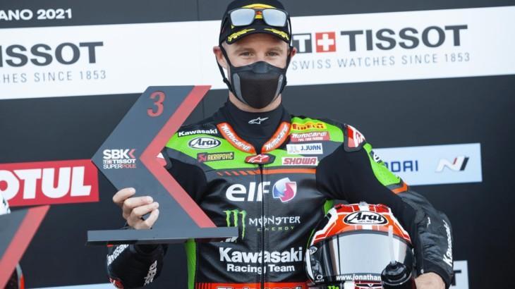FIM スーパーバイク世界選手権(SBK)ミサノ戦 ジョナサン・レイ「なんとか表彰台を獲得することが出来た」