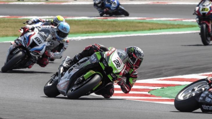 FIM スーパーバイク世界選手権(SBK)ミサノ戦 アレックス・ロウズ「路面温度の高さに苦戦した」