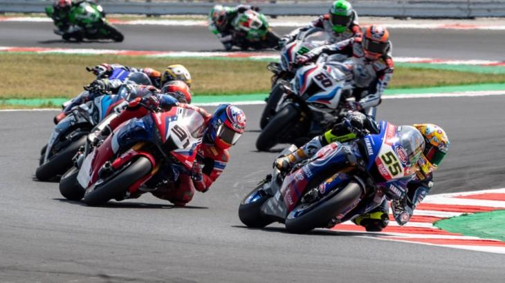 FIM スーパーバイク世界選手権(SBK)ミサノ戦 アンドレア・ロカテッリ「全体的に金曜日に時間をロスした」