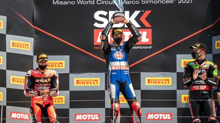 FIM スーパーバイク世界選手権(SBK)ミサノ戦 トプラック・ラズガトリオグル「最初の勝利が必要だった」